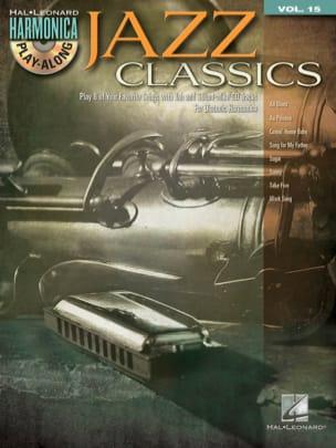 Harmonica play-along volume 15 - Jazz classics - laflutedepan.com