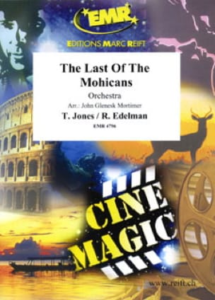 Jones Trevor / Edelman Randy - The last of the Mohicans - Partition - di-arezzo.fr