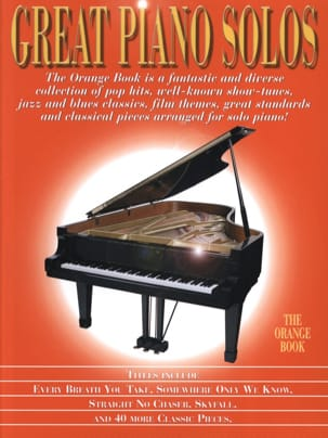 - Great Piano Solos - The Orange Book - Partition - di-arezzo.fr