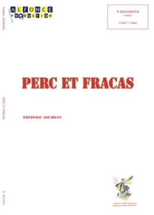 Frédéric Jourdan - Perc et fracas - Partition - di-arezzo.fr