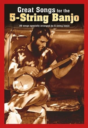 Great songs for the 5-string banjo Partition laflutedepan