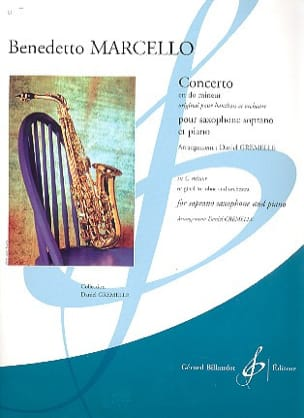 Benedetto Marcello - Concerto in C minor - Sheet Music - di-arezzo.com