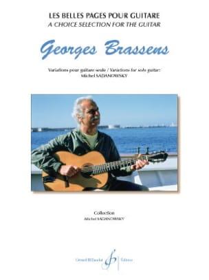Georges Brassens - Les belles pages pour guitare - Partition - di-arezzo.fr