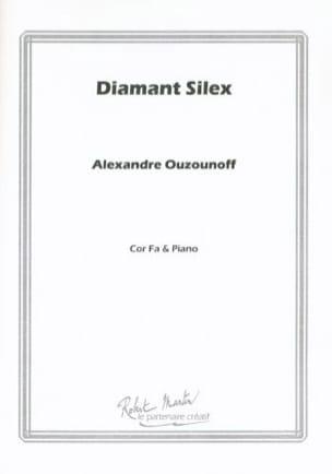 Diamant silex Alexandre Ouzounoff Partition Cor - laflutedepan