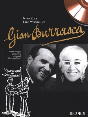 Rota Nino / Wertmüller Lina - Gian Burrasca - Partition - di-arezzo.fr