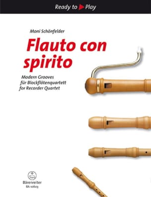 Flauto con spirito Moni Schönfelder Partition laflutedepan
