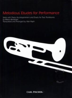 Giulio Marco Bordogni - Melodious etudes for performance - Partition - di-arezzo.fr