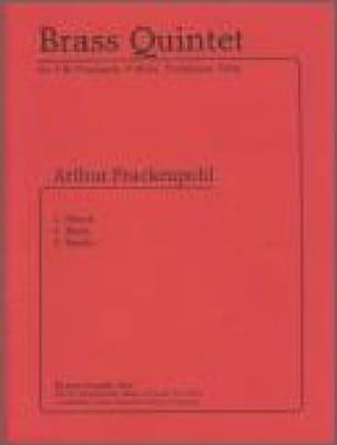 Brass quintet - Arthur Frackenpohl - Partition - laflutedepan.com