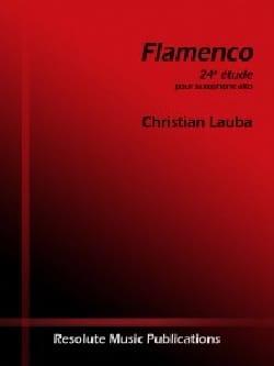 Christian Lauba - flamenco - Partitura - di-arezzo.es