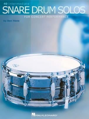 Ben HANS - 40 Intermediate snare drum solos - Sheet Music - di-arezzo.co.uk