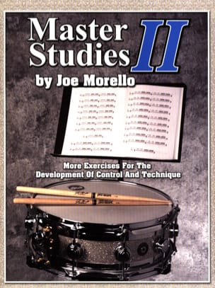 Joe Morello - Master studies II - Sheet Music - di-arezzo.co.uk
