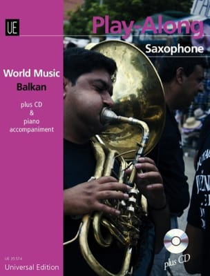 World music Balkan - Play-along Saxophone - laflutedepan.com