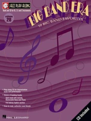 - Jazz play-along volume 28 - Big band era - Partition - di-arezzo.fr