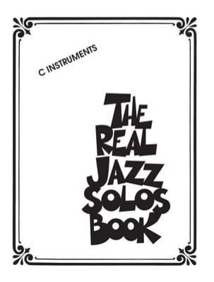 The Real Jazz Solos Book - C Instruments - Partition - di-arezzo.fr