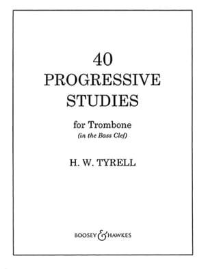 40 Progressive studies - H.W. Tyrell - Partition - laflutedepan.com