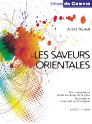 Les saveurs orientales - André Telman - Partition - laflutedepan.com