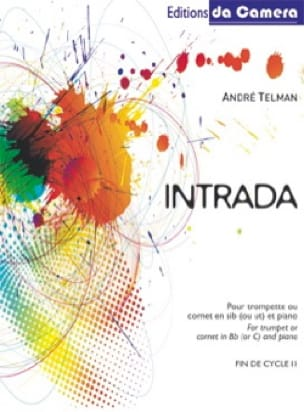 André Telman - Intrada - Partitura - di-arezzo.it