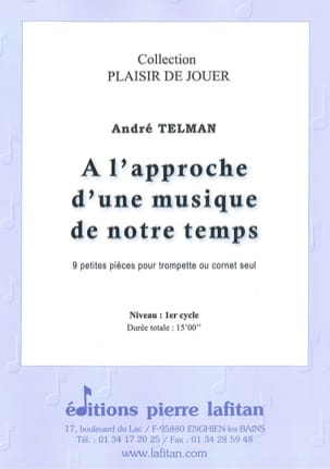 André Telman - Approaching a music of our time - 9 Small Pieces - Sheet Music - di-arezzo.co.uk