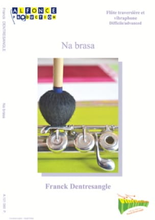 Na brasa Franck Dentresangle Partition Vibraphone - laflutedepan