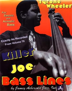 Bass lines Killer Joe - Aebersold 70 Tyrone Wheeler laflutedepan