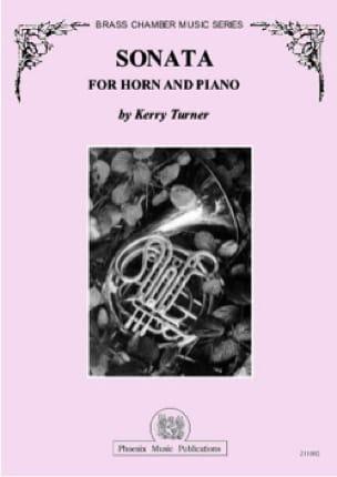 Sonata - Kerry Turner - Partition - Cor - laflutedepan.com
