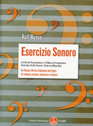 Ralf Busse - Esercizio sonoro in C major and transpositions - Partition - di-arezzo.fr