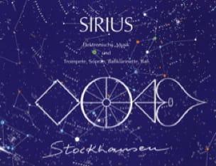 Sirius - Karlheinz Stockhausen - Partition - laflutedepan.com
