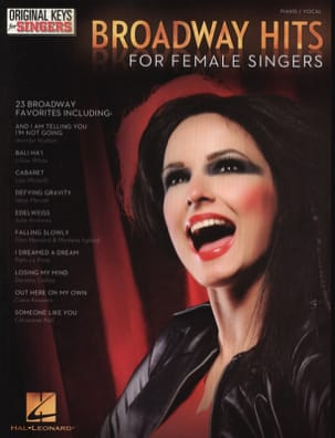 - Broadway hits for female singers - Partition - di-arezzo.fr