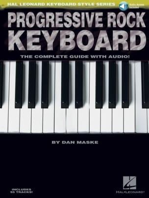 Progressive rock keyboard - Dan Maske - Partition - laflutedepan.com