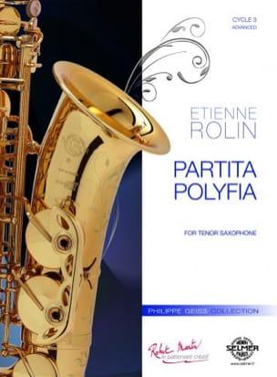 Partita polyfolia - Etienne Rolin - Partition - laflutedepan.com