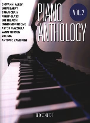 Piano anthology volume 2 - Partition - di-arezzo.fr