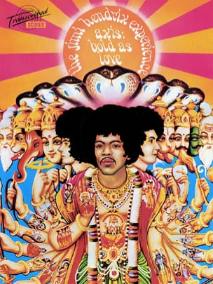 Jimi Hendrix - Axis: Bold as love - Partition - di-arezzo.fr