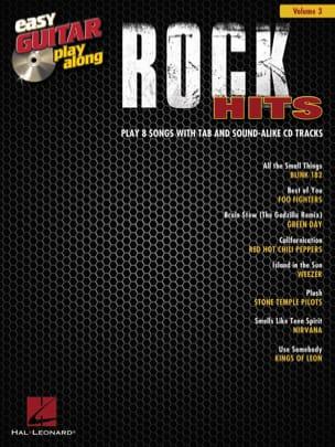 Easy guitar play along volume 3 - Rock hits - laflutedepan.com