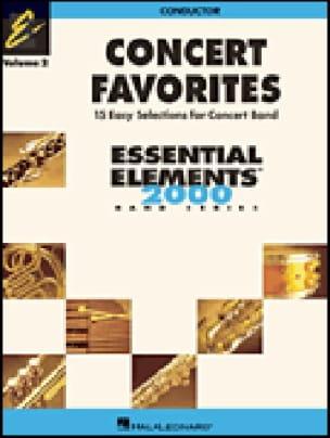 Sweeney Michael / Curnow James / Higgins Paul / Lavender Paul / Moss J - Concert favorites volume 2 - Partition - di-arezzo.fr