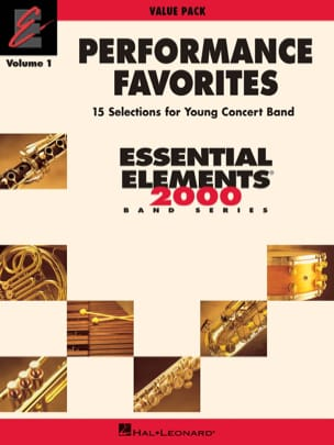 - Performance favorites volume 1 - Sheet Music - di-arezzo.com