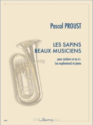 Les sapins beaux musiciens Pascal Proust Partition Tuba - laflutedepan