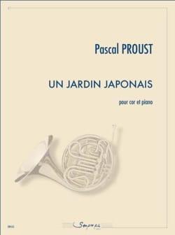Un jardin japonais Pascal Proust Partition Cor - laflutedepan