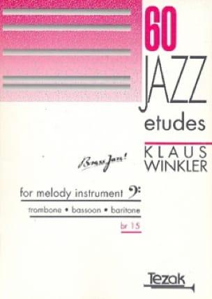 Klaus Winkler - 60 studi di jazz - Partitura - di-arezzo.it