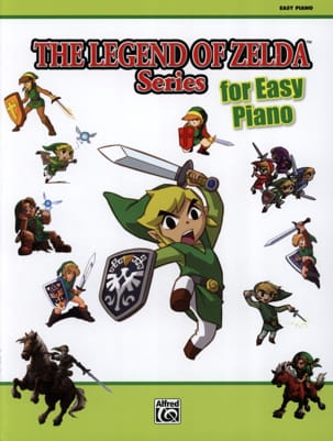 Musique de Jeux Vidéo - The legend of Zelda series for easy piano - Partition - di-arezzo.fr