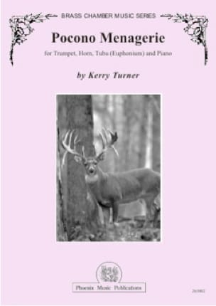 Kerry Turner - Pocono menagerie - Partition - di-arezzo.fr
