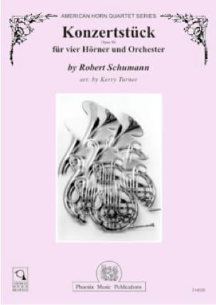 Konzertstück opus 86 - Robert Schumann - Partition - laflutedepan.com