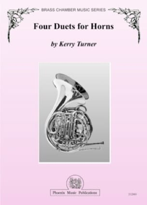 Four duets for horns Kerry Turner Partition Cor - laflutedepan