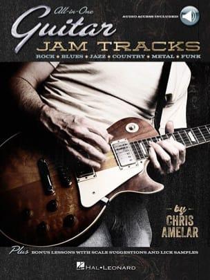 All-in-one guitar jam tracks Chris Amelar Partition laflutedepan