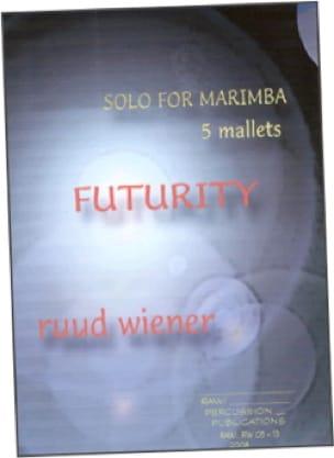 Futurity - Ruud Wiener - Partition - Marimba - laflutedepan.com
