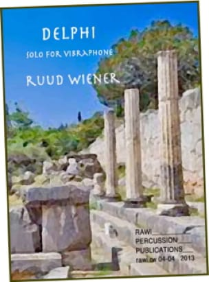 Delphi - Ruud Wiener - Partition - Vibraphone - laflutedepan.com