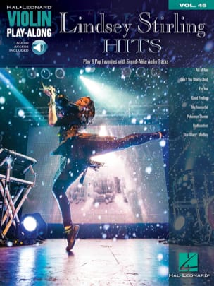 Lindsey Stirling - Violin Play-Along volume 45 Lindsey Stirling hits - Partition - di-arezzo.ch