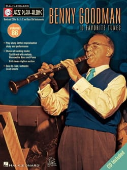 Jazz play-along volume 86 - Benny Goodman - laflutedepan.com