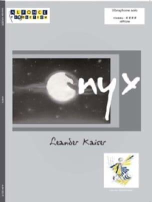 Onyx Leander Kaiser Partition Vibraphone - laflutedepan