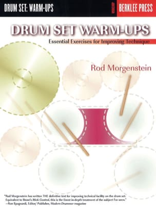 Drum set warm-ups Rod Morgenstein Partition Batterie - laflutedepan