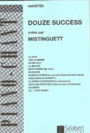 Mistinguett - 12 Succès - Partition - di-arezzo.fr
